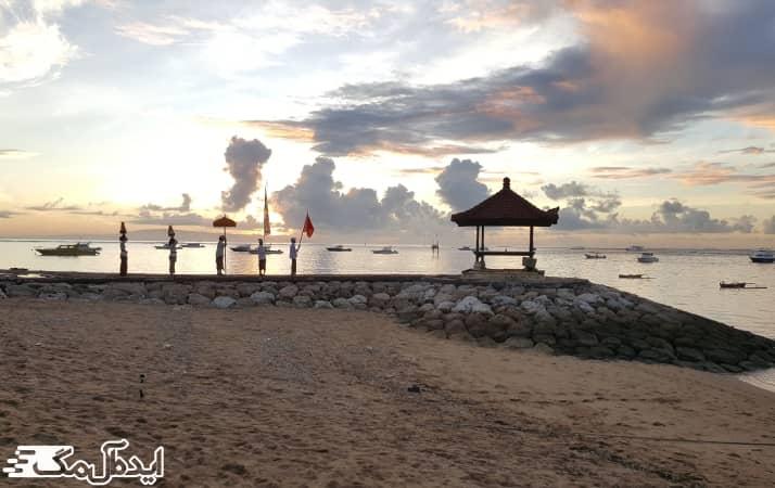 ساحل سانور در جزیره بالی