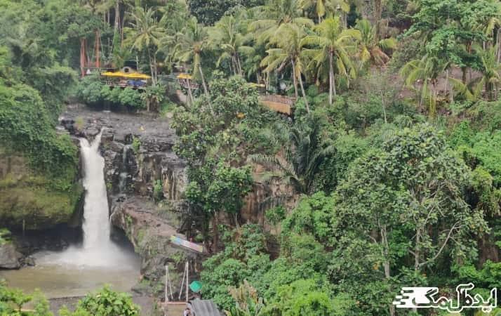 منطقه اوبود در جزیره بالی