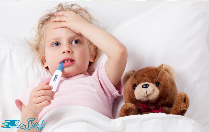 تب در کودکان