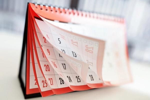 ترتیب ماه های میلادی