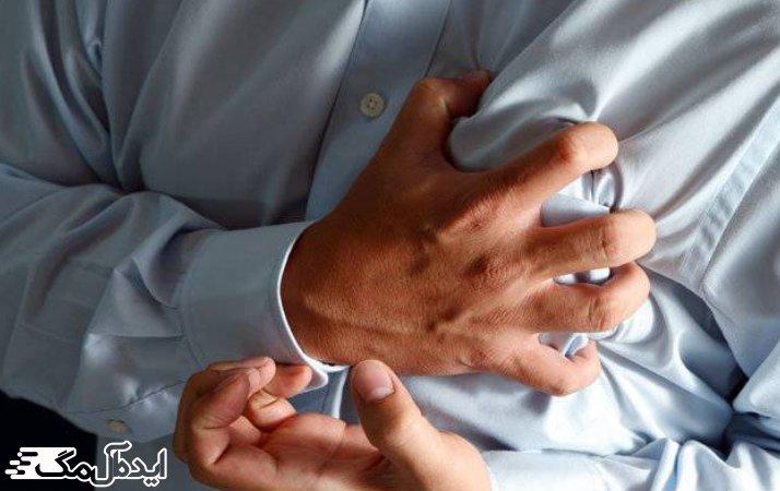 درد قفسه سینه از عوارض جانبی امبین