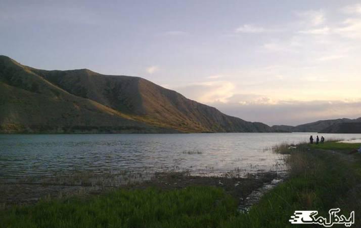 دریاچه سد شیرین دره