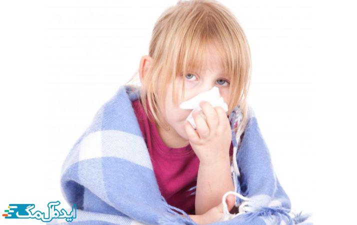 بیماری ذات الریه در کودکان