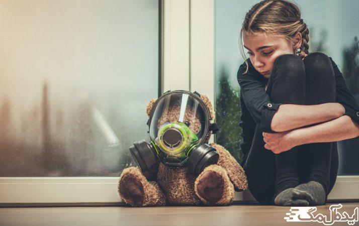 غم و اندوه کودکان در دوران کرونا