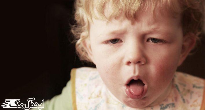عوامل سرفه در کودکان