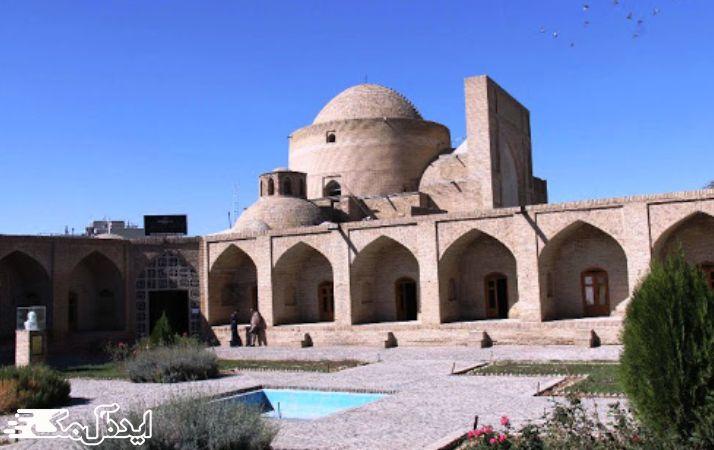بنای مقبره و مسجد شیخ حیدر کدکنی