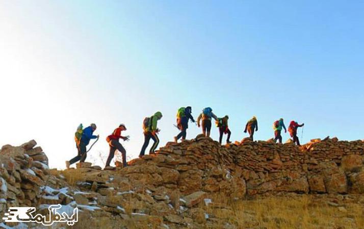 تپه زوباران در شهرستان قوچان