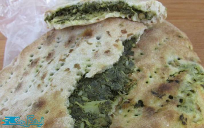 نان محلی قطاب