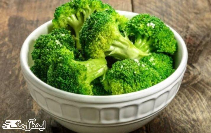 سبزیجات صلیبی مانند کلم بروکلی