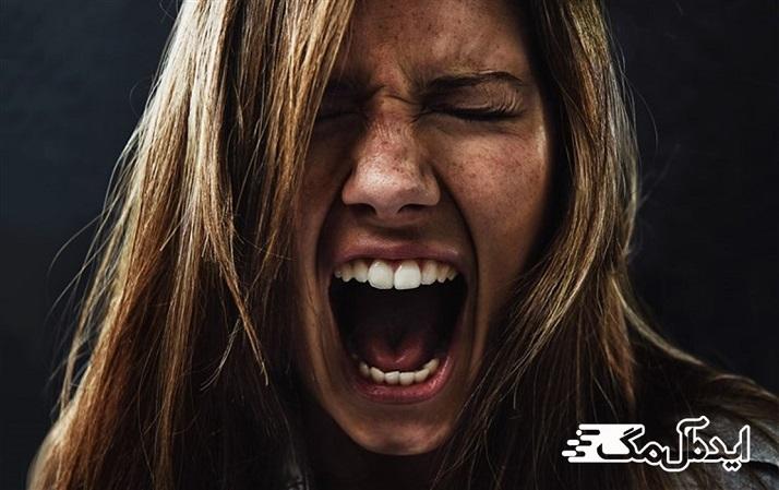 رفتار منفعلانه هنگام خشم