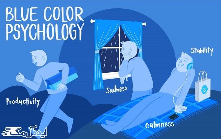 رنگ آبی چه احساسی در شما ایجاد میکند؟