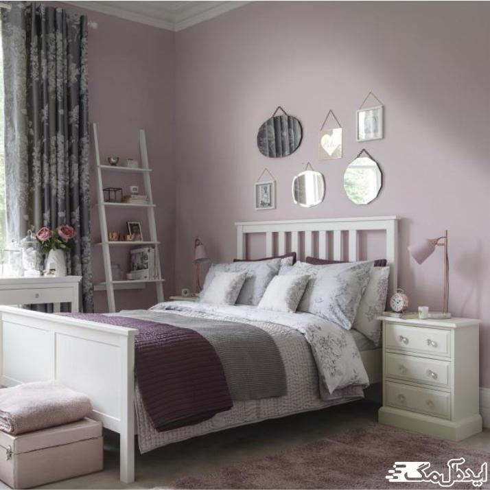 اتاق خواب صورتی برای دختران