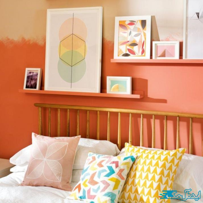 ایده های هنری برای اتاق خواب