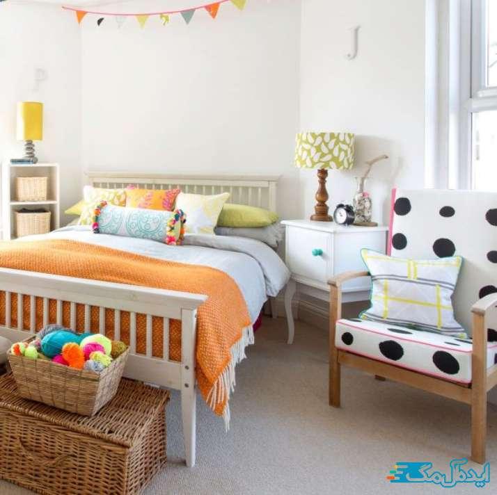 تزیین اتاق خواب دخترانه با کاردستی