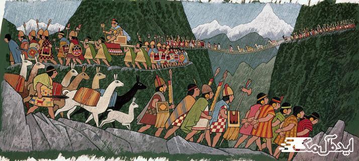 شکل گیری تمدن اینکاها