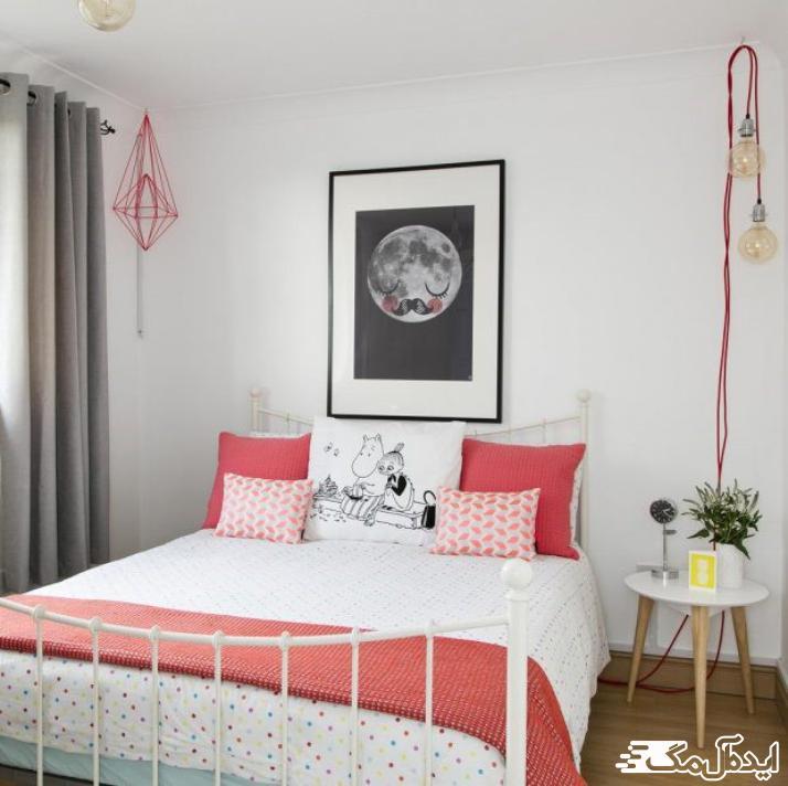 خلاقیت در اتاق خواب دخترانه