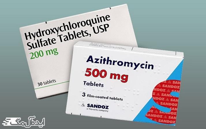 استفاده از آزیترومایسین برای درمان COVID-19