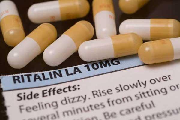 موارد مصرف ریتالین