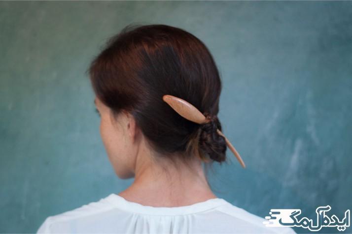 در تماس تصویری به موهای خود استایل بدهید