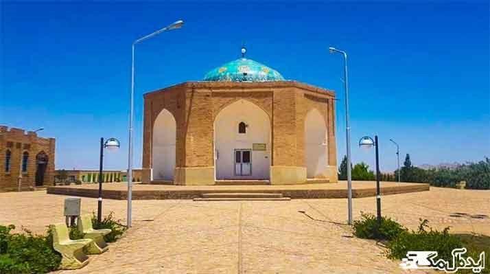 امامزاده احمد یکی از جاذبه های گردشگری گناباد