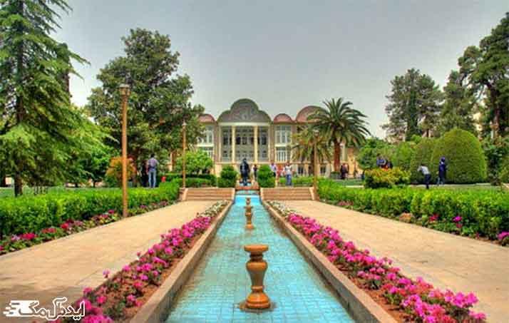 باغ ایرانی از جاذبه های گردشگری تهران