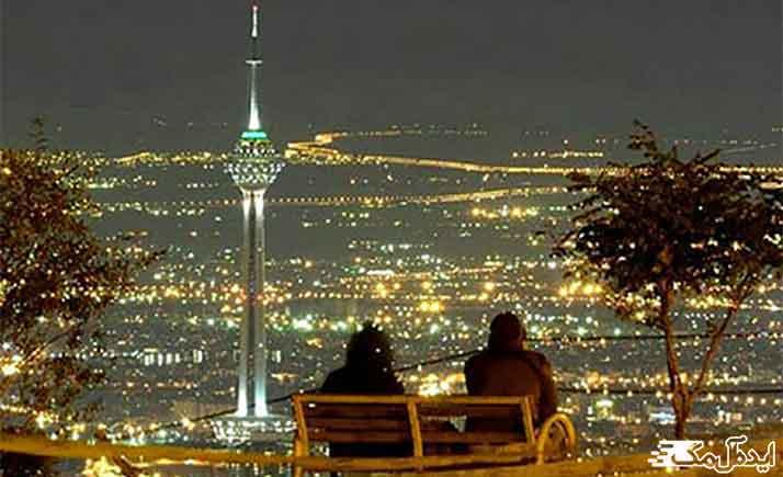 بام تهران از نقاط دیدنی تهران