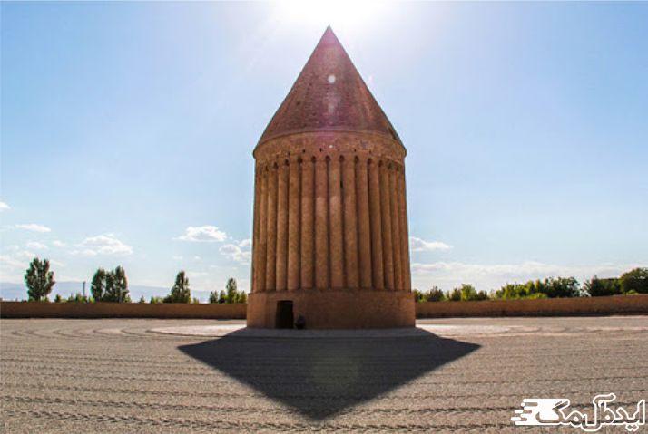 برج رادکان در شهرستان چناران