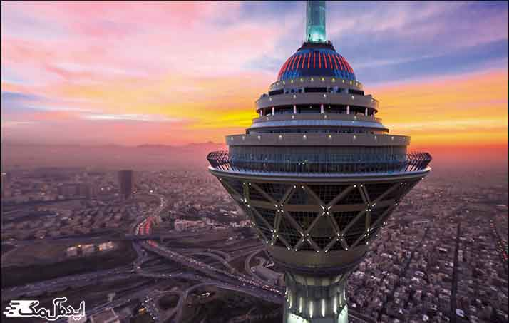 برج میلاد از جاذبه های گردشگری تهران