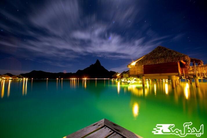 جزیره زیبای بورا بورا