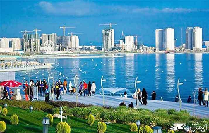 دریاچه چیتگر دیدنی تهران