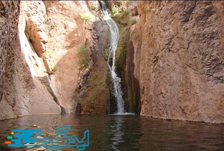 آبشار زرداب از جاذبه های گردشگری خواف