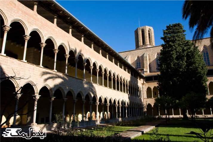 صومعه پدرالبس یکی دیگر از جاهای دیدنی بارسلونا