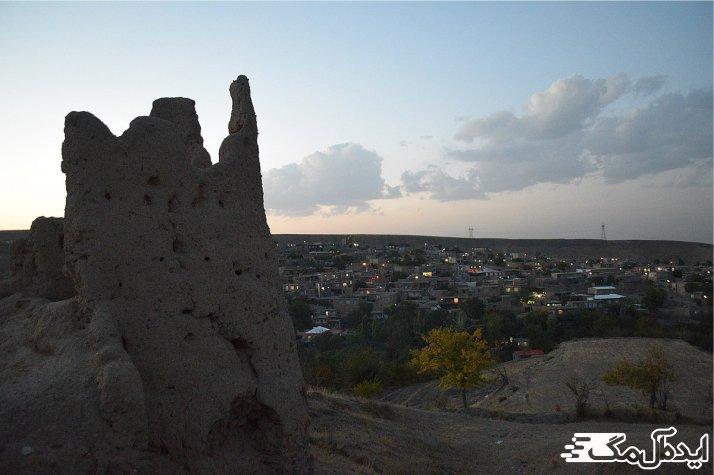 قلعه اسجیل از جاذبه های گردشگری چناران
