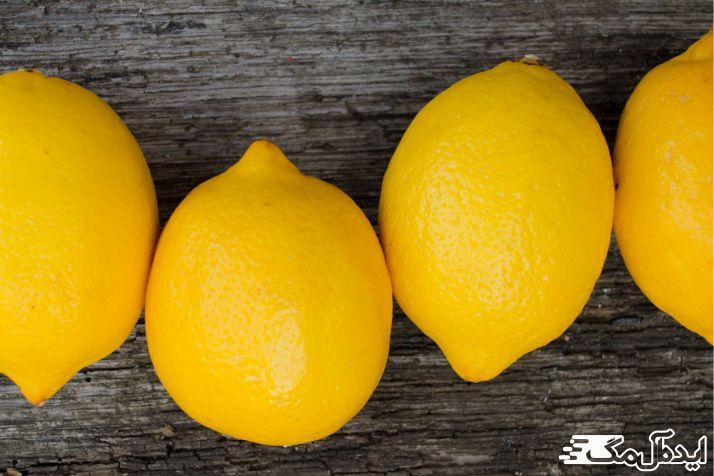 لیمو در درمان جوش سر سیاه موثر است