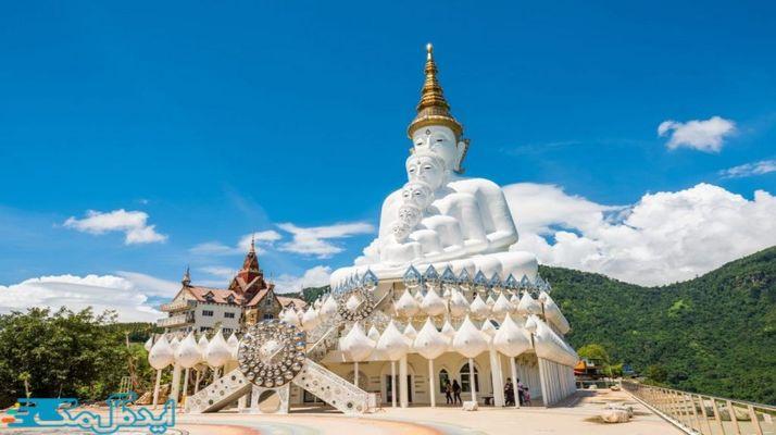معرفی کامل زیباترین معبد های کشور تایلند