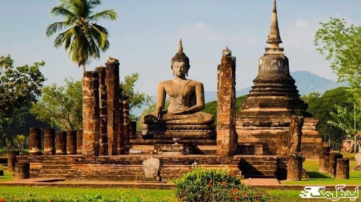 برسی تاریخچه ی معبدهای تایلند