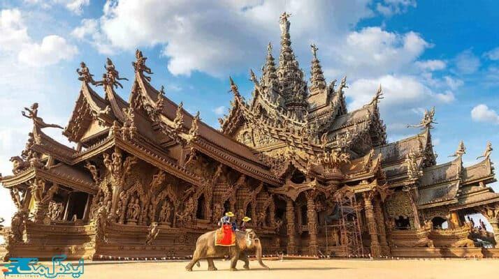 جاذبه های گردشگری تایلند؛معبدها