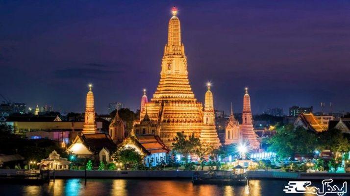 معرفی زیباترین معبد های تایلند