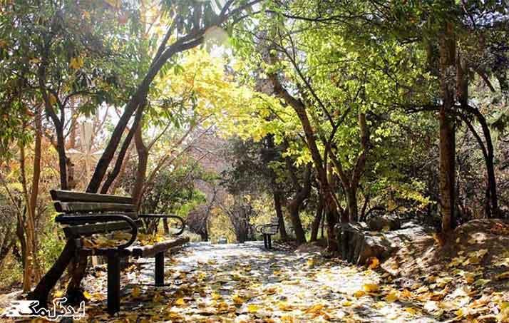 پارک جمشیدیه دیدنی تهران