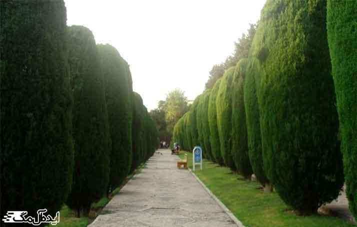 پارک ساعی از مناطق دیدنی تهران