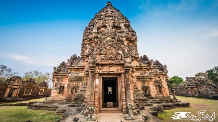 معرفی معبد پارک فانوم رونگ تایبند