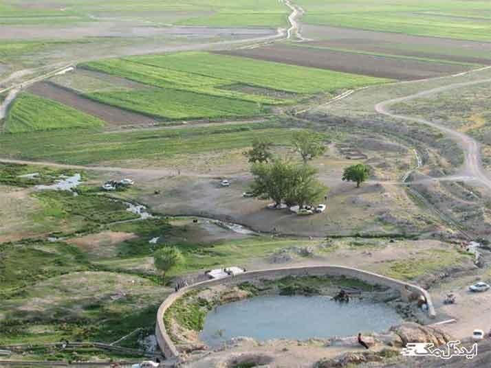 چشمه زیبای گیلاس در شهر چناران