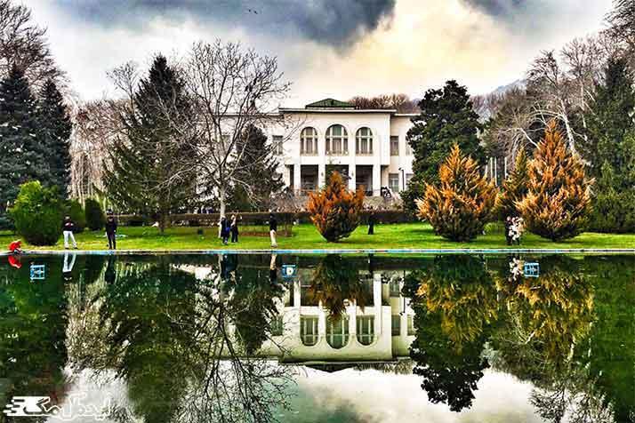 کاخ سعد آباد از اماکن دیدنی تهران