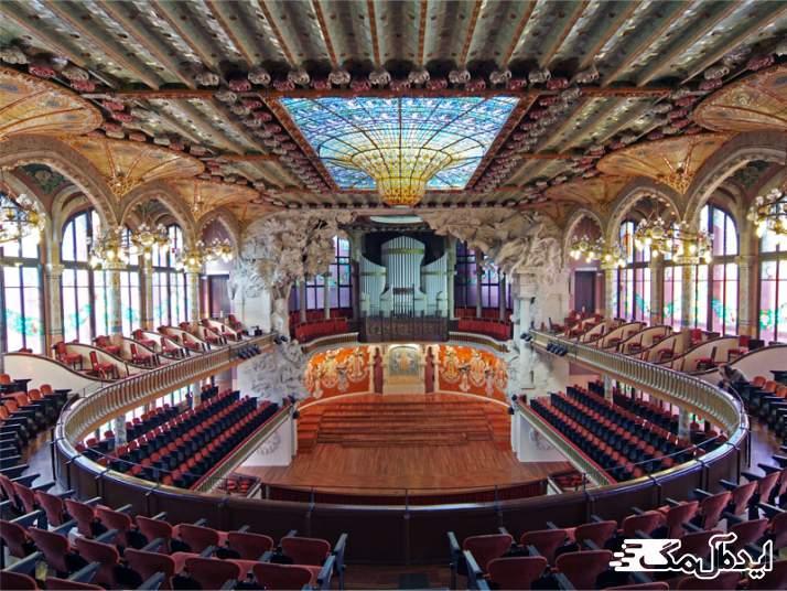 کاخ موسیقی بارسلونا