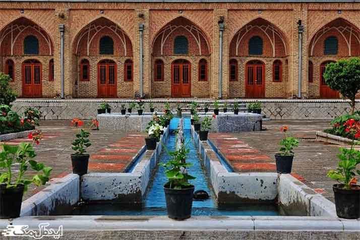 کاروانسرای خانات از دیدنی های تهران