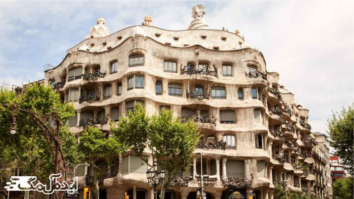 کاسا میلا در بارسلونا