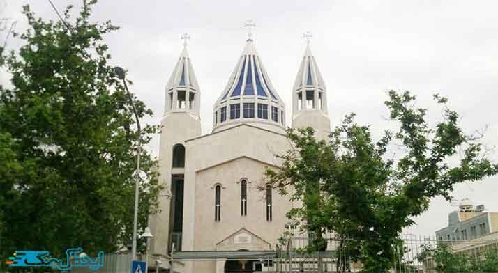 کلیسای سرکیس مقدس، از دیدنی های تهران