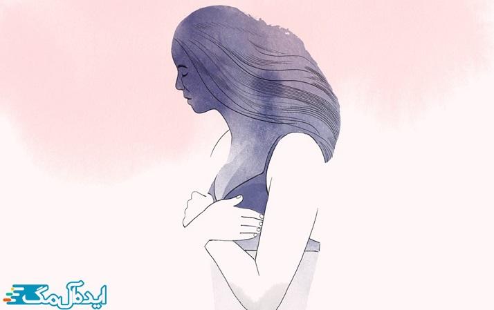 ماستکتومی کل پستان را معمولاً با از بین بردن بعضی از غدد لنفاوی واقع در زیر بغل یا گود بازو جدا میکند.