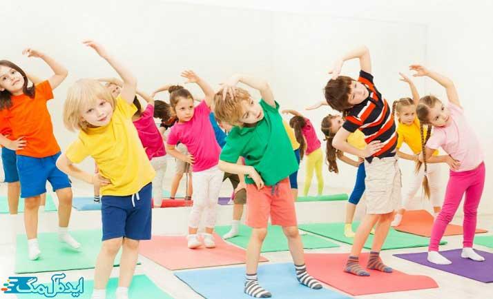 فعالیت بدنی برای کودکان