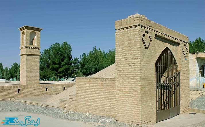 آب انبار همت آباد مکان دیدنی فیروزه